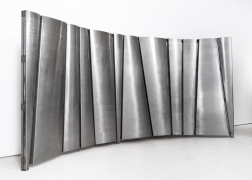 Philolaos Tloupas' large steel screen, full view