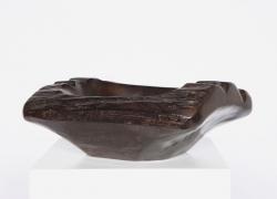 Alexandre Noll's Ebony bowl, diagonal view