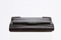 Alexandre Noll's black ebony box full straight view