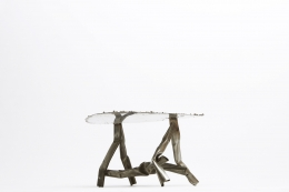 Albert Feraud's coffee table straight diagonal view