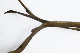 Felix Agostini's coffee table bronze leg detail