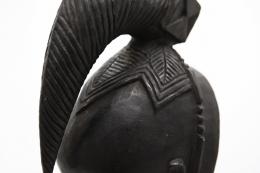 René Buthaud's mask detail of mask head