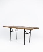 Marolles' dining table full diagonal view