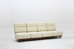 Guillerme & Chambron four seat sofa