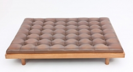 "Pierre Chapo's ""L01L Godot"" daybed straight view from above"