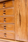 Schulz's sideboard, detailed view of drawers