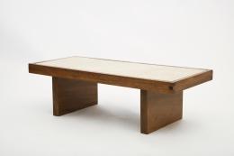 Jany Blazy's coffee table diagonal view