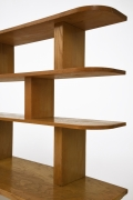 Charlotte Perriand's bookshelf, detailed view