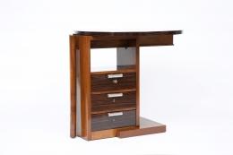 André Sornay's desk, diagonal view, closed