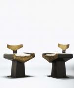 Alain Douillard's set of chairs diagonal views