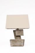 Marius Bessone ceramic table lamp back view