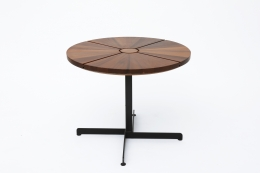 """Charlotte Perriand's """"Soleil"""" adjustable table, straight full view"""