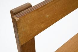 George Candilis' bench detail of corner