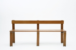 George Candilis' bench straight view