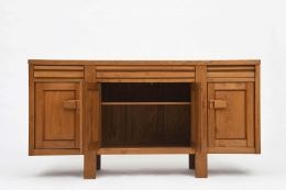Maison Regain's sideboard open