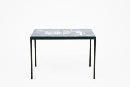 Jean Amado's ceramic coffee table lower view