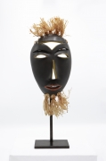R. Weil's ceramic mask, full front view