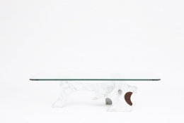 Fred Brouard's coffee table straight view