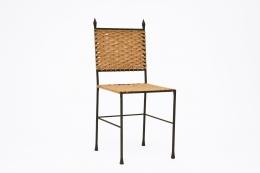 Marolles' chair front diagonal view