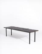 Annie Fourmanoir's ceramic coffee table full diagonal view