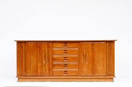 Schulz's sideboard, full straight eye-level view