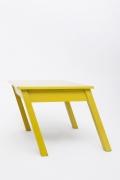 Rafael Barrios' Mesa table front view