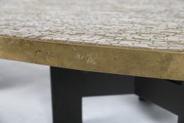 """Image of Ado Chale, """"Les Monts de Venus"""" table, c.1975"""