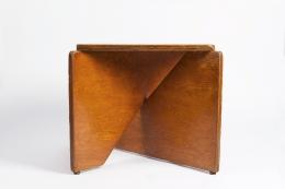 Hervé Baley's stool eye level view