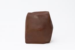 Annie Fourmanoir's ceramic stool, front view