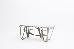 Albert Feraud's coffee table diagonal view