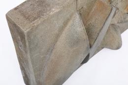 Albert Vallet's wall sculpture, detailed view