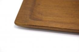 Alexandre Noll's large platter, detailed view of corner
