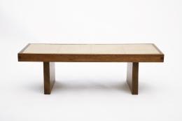 Jany Blazy's coffee table straight view