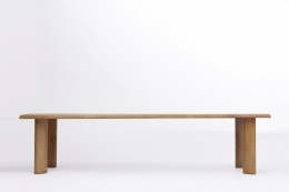 Charlotte Perriand's dining table, full straight view
