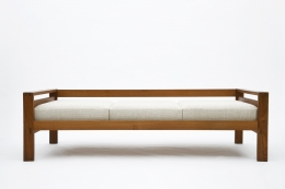 """Pierre Chapo's """"L06A"""" daybed straight view"""