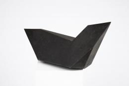 """Rosalda Gilardi's """"Airone N 2"""" sculpture back diagonal view"""