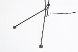 Michel Buffet's floor lamp detail of lamp feet