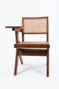 "Pierre Jeanneret's ""Classroom"" chair front view"