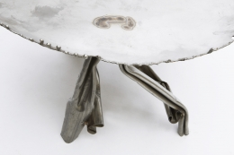 Albert Feraud's coffee table detailed image of table top and legs