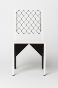 """Paul Ludick's """"Apartheid"""" chair, front straight view"""