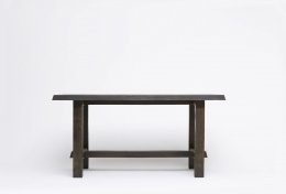 Charlotte Perriand's dining table, straight view from eye-level