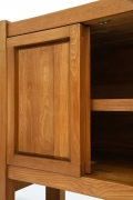 "Pierre Chapo's ""R16"" sideboard detail of door and shelf"