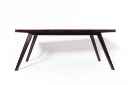 Pierre Jeanneret's dining table straight front view