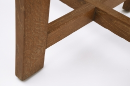 Colette Guéden's side table detailed view of foot