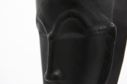 Roger Capron's ceramic mask detail of face