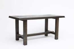 Charlotte Perriand's dining table, diagonal view
