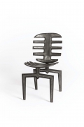 Terence Main's Frond chair 7 front diagonal view