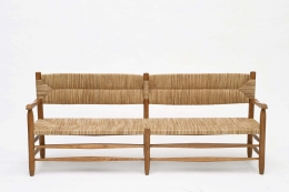Charlotte Perriand's bench, full straight view