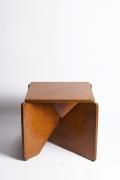Hervé Baley's stool straight view