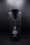 Philolaos Tloupas' sculptural necklace, full straight view